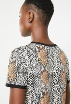 New Look - Snake print T-shirt - multi