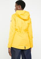 ONLY - Lorca parka - yellow