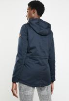 ONLY - New lorca spring canvas parka - navy