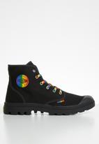 Palladium - Pampa pride - black & rainbow