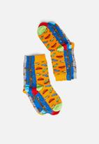 Brave Soul - Drive 5 pack socks - multi