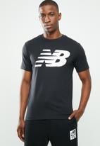 New Balance  - Logo graphic tee - black