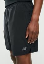 New Balance  - Core 7inch 2-In-1 short - black