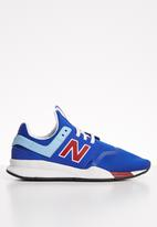 New Balance  - 247 - cobalt & red