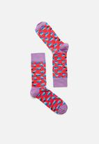 Happy Socks - Cheese socks - multi