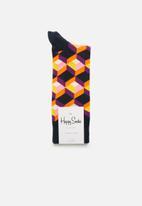 Happy Socks - Optic square socks - multi
