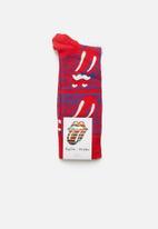 Happy Socks - Rolling stones stripe me up socks - multi