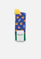 Happy Socks - Hamburger socks - multi