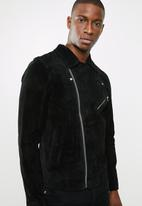 Jack & Jones - Jordane biker jacket noos - black
