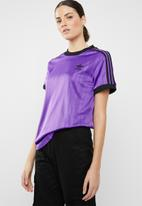 adidas Originals - 3 stripes colour tee - purple