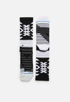 Stance Socks - Distances crew sock - multi