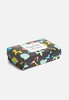 Happy Socks - Balloon animal birthday gift box - multi