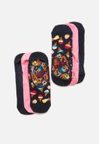 Happy Socks - 3-Pack ice cream liner socks - multi