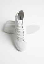 SUPERGA - 2754 Perforated punched nappa - white