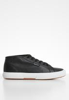 SUPERGA - 2754 Perforated punched nappa - black