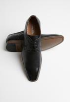 Gino Paoli - Jason formal lace-up - black
