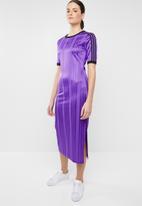 adidas Originals - Adidas casual sporty dress - purple & black
