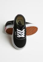 Vans - Td authentic - black & white