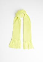 Superbalist - Fluffy tassel scarf - yellow