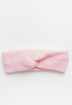 Superbalist - Knotted headband - pink