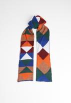 Superbalist - Diamond pattern scarf - multi