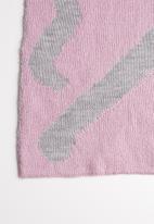 Superbalist - Colourblock scarf - pink & grey