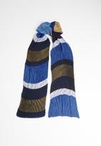 Superbalist - Plaited colourblock scarf - multi