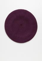 Cotton On - Coco beret - purple
