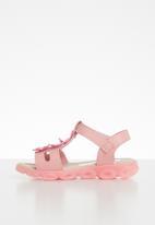 POP CANDY - Flower detailed sandal - mid pink