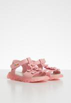 POP CANDY - Flower detailed sandal - mid pink