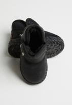 POP CANDY - Light up boot - black