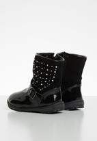 POP CANDY - Embellished boots - black
