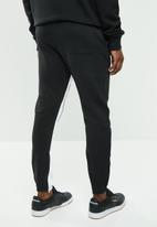 Reebok Classic - CL F zip jogger - black & white