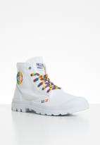 Palladium - Pampa pride - white & rainbow