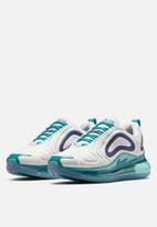 Nike - Air Max 720 - white/court purple-spirit teal