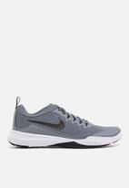 Nike - Legend - cool grey/black-white-clear emerald