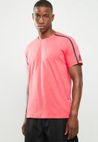 adidas Performance - ZNE short sleeve tee - pink