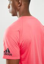 adidas Performance - ZNE short sleeve tee - pink