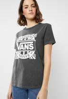 Vans - Cali native BF tee - charcoal