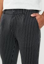 Jack & Jones - Tanner pants - black & white