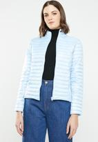 Jacqueline de Yong - Maddy padded jacket - blue