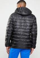 Only & Sons - Hooded puffer - black