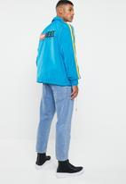 Diesel  - J-akito coach jacket - blue