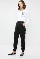 Vans - Cali native native long sleeve top - white