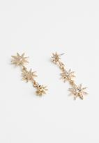 Cotton On - Astrid mystic earrings - gold