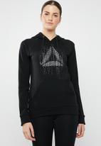 Reebok - Graphic hoodie - black