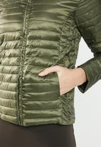 Jacqueline de Yong - Maddy padded jacket - green