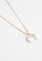 Cotton On - Indiana western necklace - gold