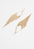 Cotton On - Infinity western earring - gold