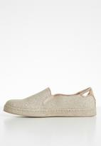 Call It Spring - Faux leather glitter slip-on sneaker - rose gold